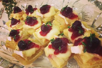 Time for These Delicious Cranberry Brie Bites
